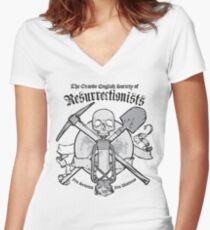 The Resurrectionist's Society Women's Fitted V-Neck T-Shirt