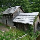 Mabry Mill - Backside ~ by virginian