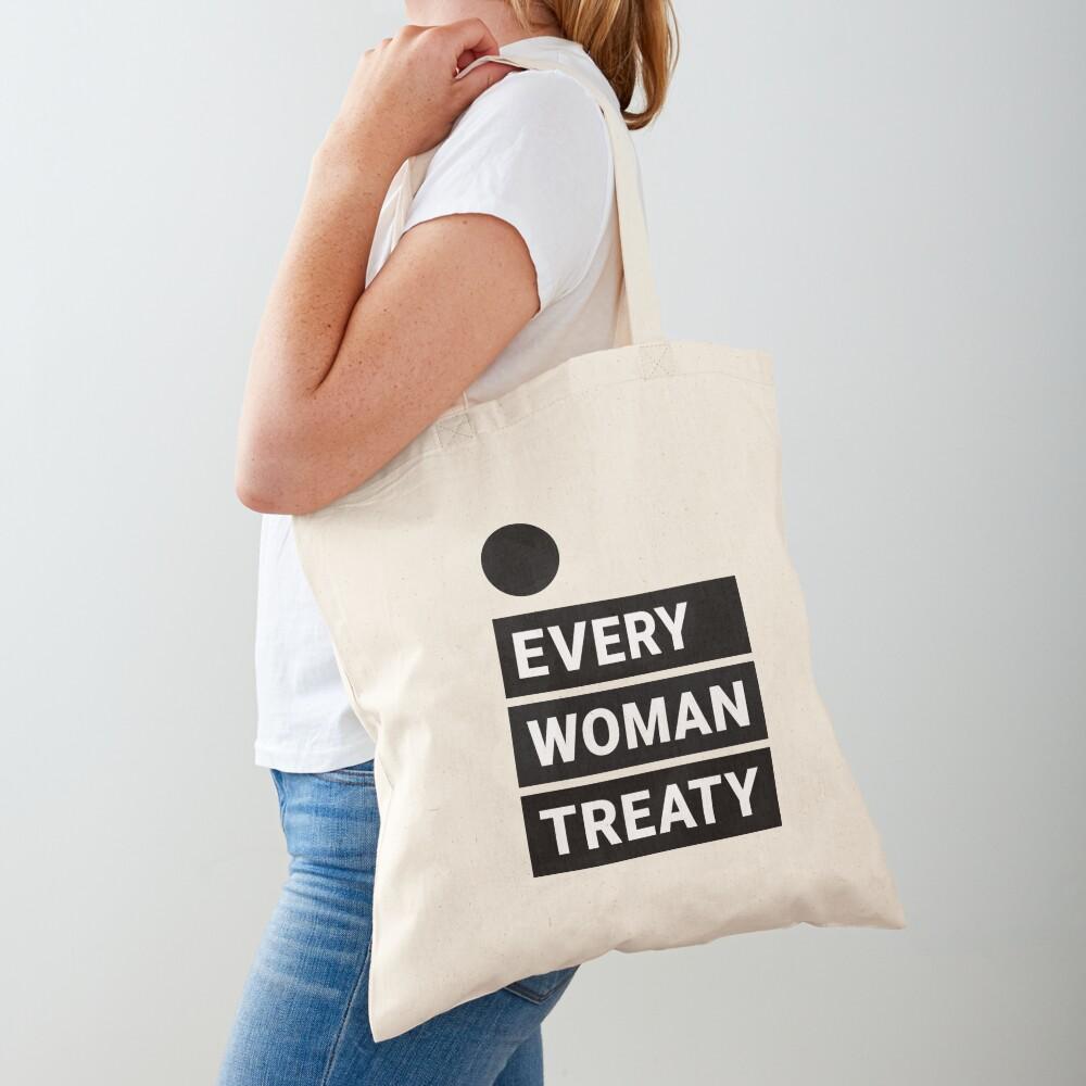 English Every Woman Treaty Tote Bag