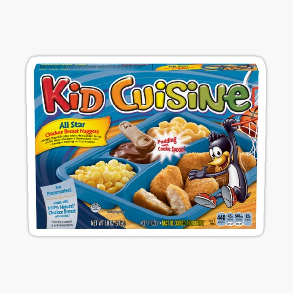 kid cuisine Sticker