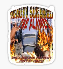 Beauty Survives the Flames  Sticker