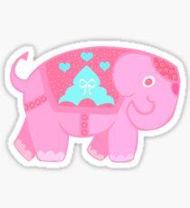 Elly pink Sticker