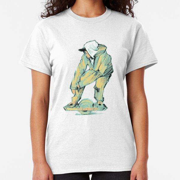 Linda Youngss France Flag T-Shirt Premium Fit Tee Asphalt XS