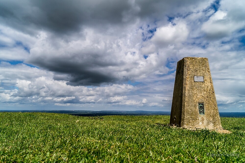 Ditchling Beacon, East Sussex by Kieron Pelling