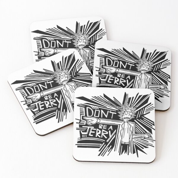 Rick and Morty | Dont Be a Jerry Coasters (Set of 4)