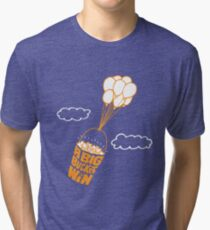 Big Bucket of Win Tri-blend T-Shirt