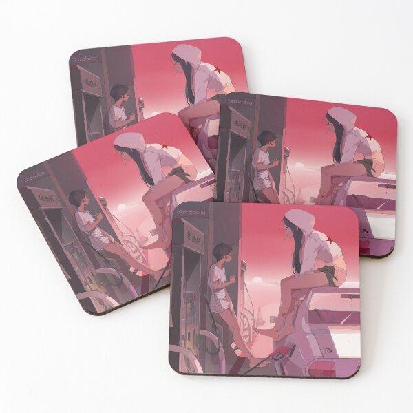 2 suns Coasters (Set of 4)