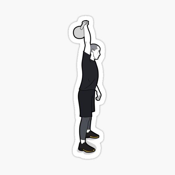 Kettlebell Snatch Sticker