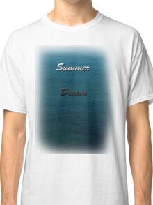 Water makes you think Classic T-Shirt