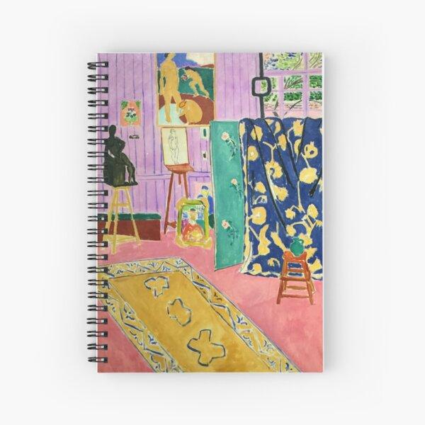 Matisse Exhibition Spiral Notebook