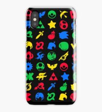 Super Smash Logos Phone Case (BLACK) iPhone Case
