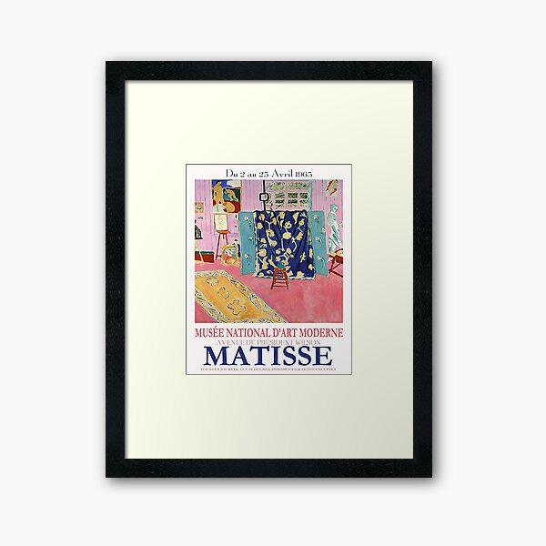 Museum National Matisse Framed Art Print