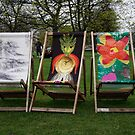 deck chairs by Jennaalyce