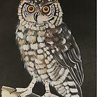Eagle Owl by SueDeNym