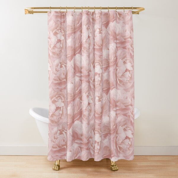 Spearwort pattern Shower Curtain