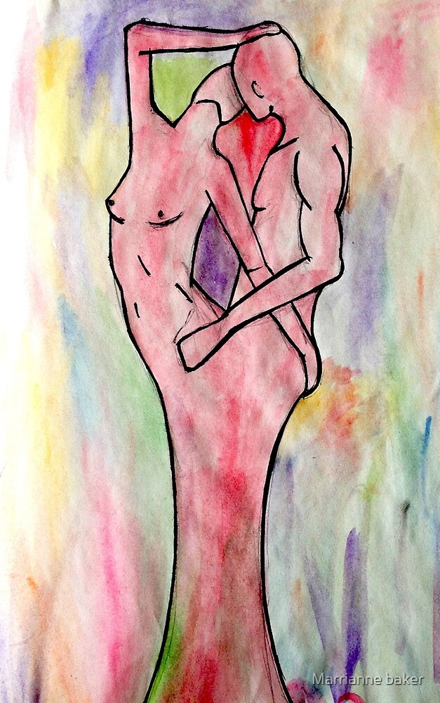 Grow In Love Print by Marrianne baker