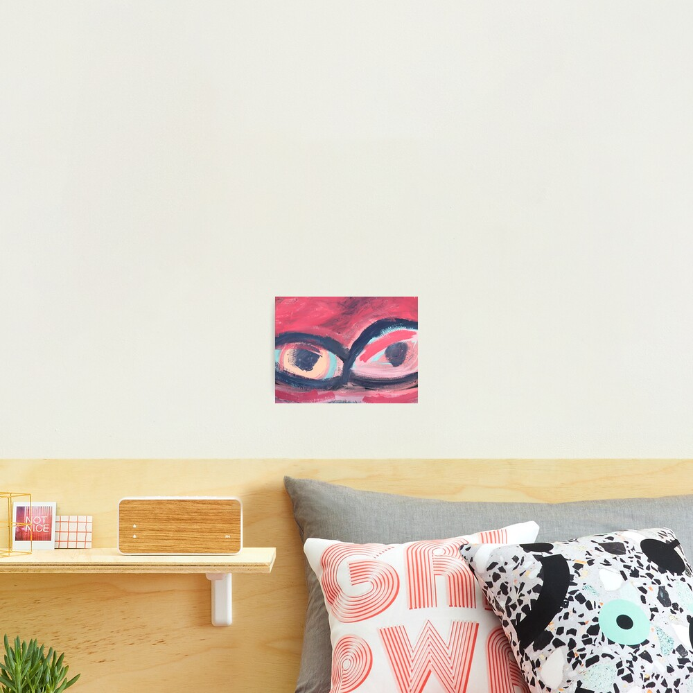 Pink Eye Photographic Print