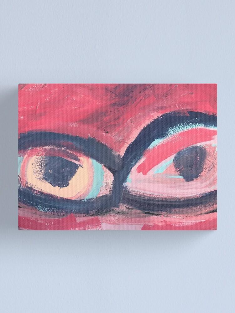 Alternate view of Pink Eye Canvas Print