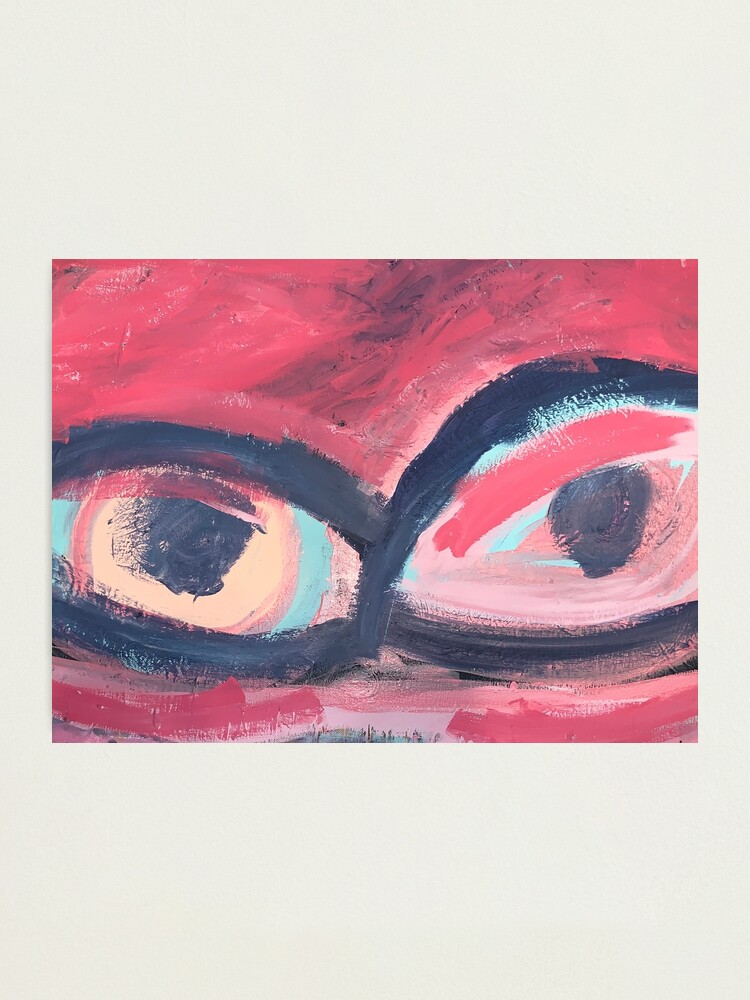 Alternate view of Pink Eye Photographic Print