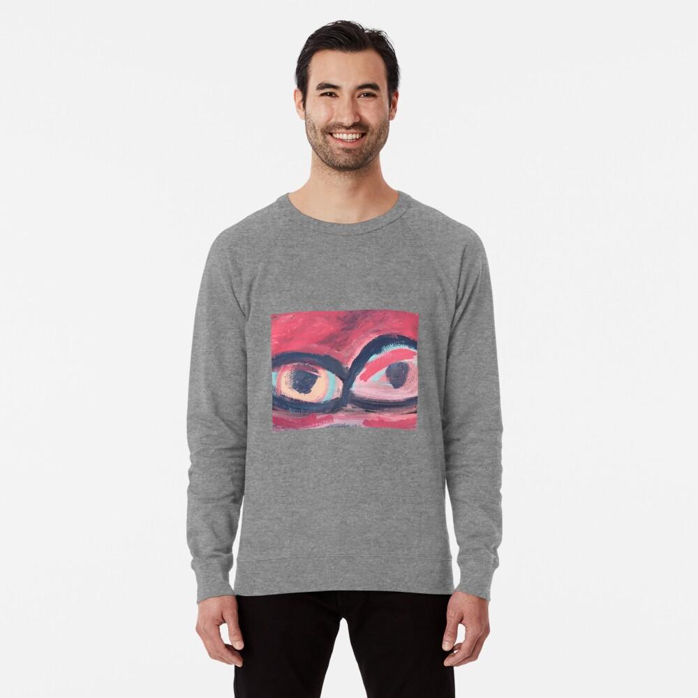 Pink Eye Lightweight Sweatshirt