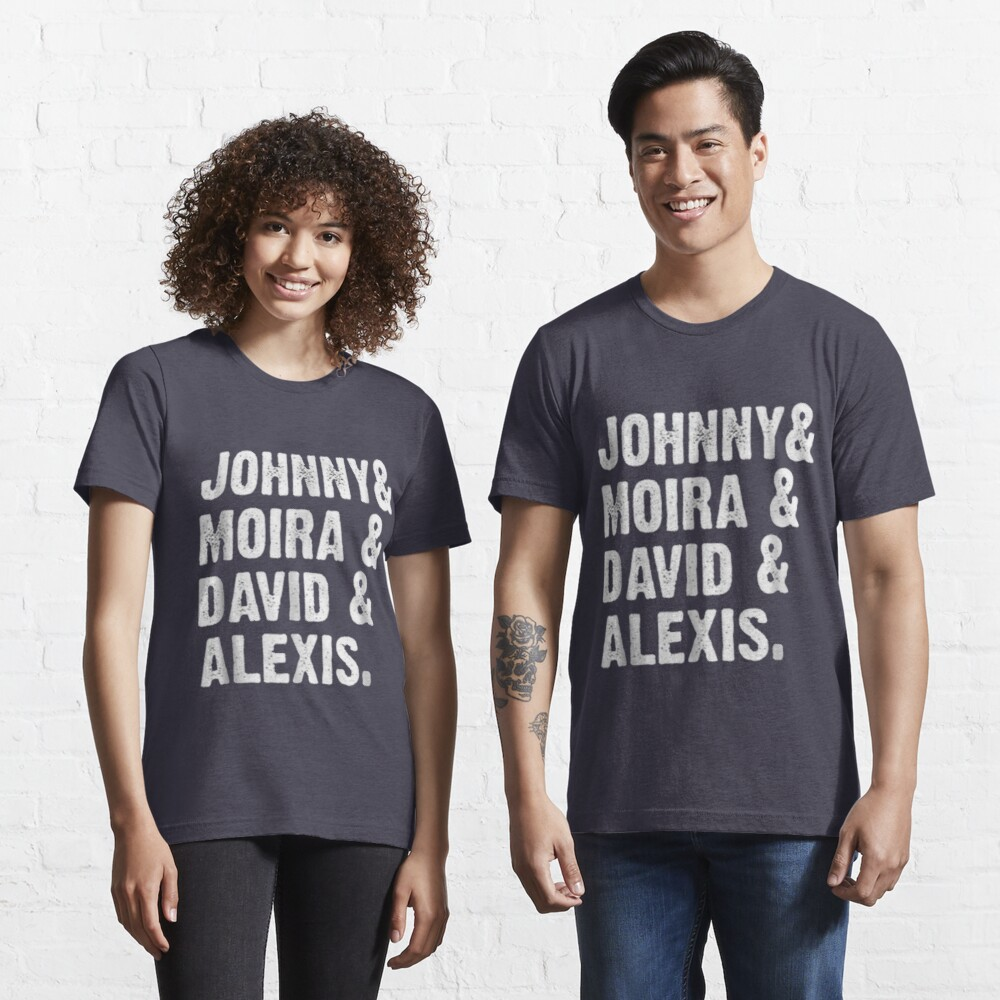 Johnny and Moira and David and Alexis | Essential T-Shirt