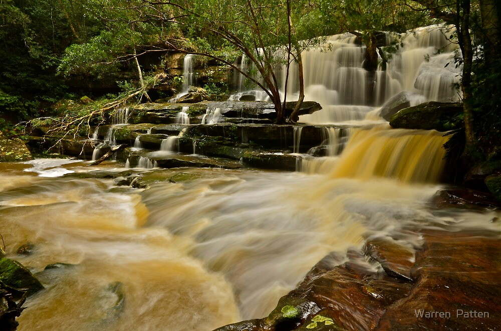 Bottom Falls.20-7-11. by Warren  Patten