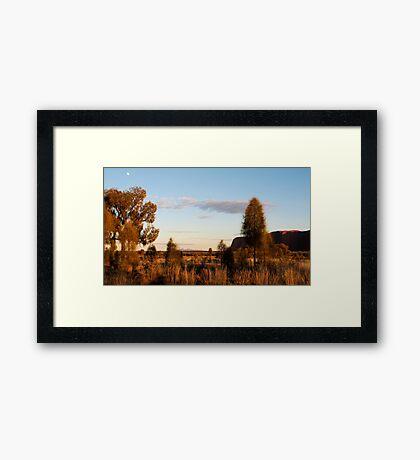 Desert Awe Framed Print
