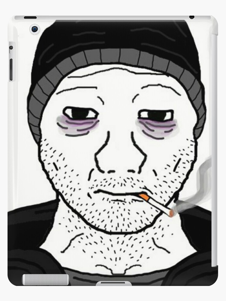 Doomer Wojak Ipad Case Skin By Suburbanlife Redbubble