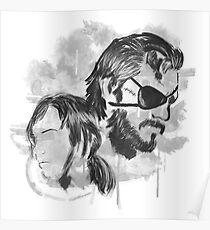 Metal Gear Graffitti Poster