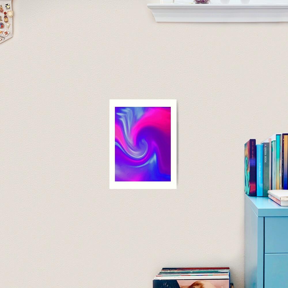 Wave of Bliss! Art Print