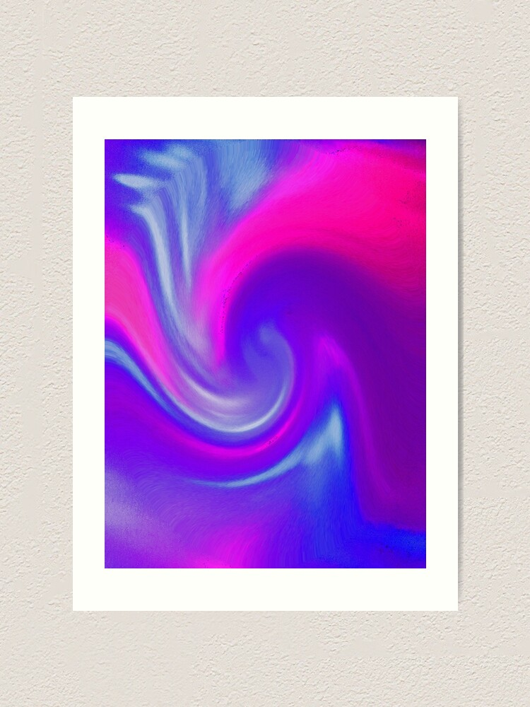 Alternate view of Wave of Bliss! Art Print