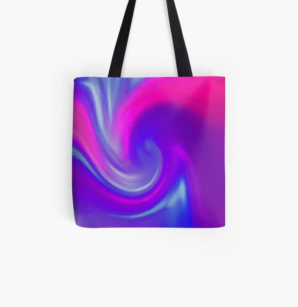 Wave of Bliss! All Over Print Tote Bag