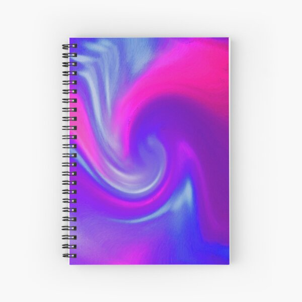 Wave of Bliss! Spiral Notebook