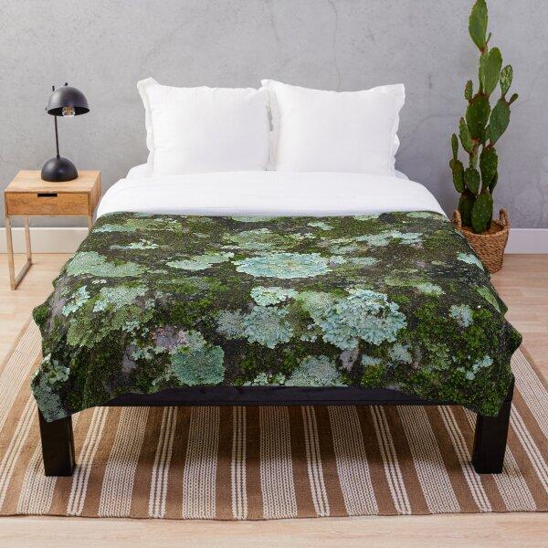 Lichen Tapestry Throw Blanket