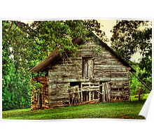 Another Old Barn in Georgia Poster