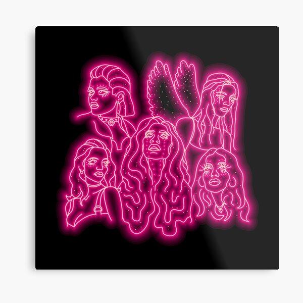 Euphoria Girls Metal Print