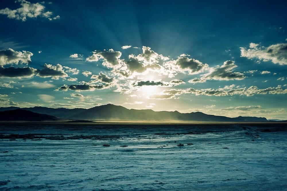 Desert Sunset by Brent Olson