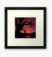 The road to Hades Framed Print