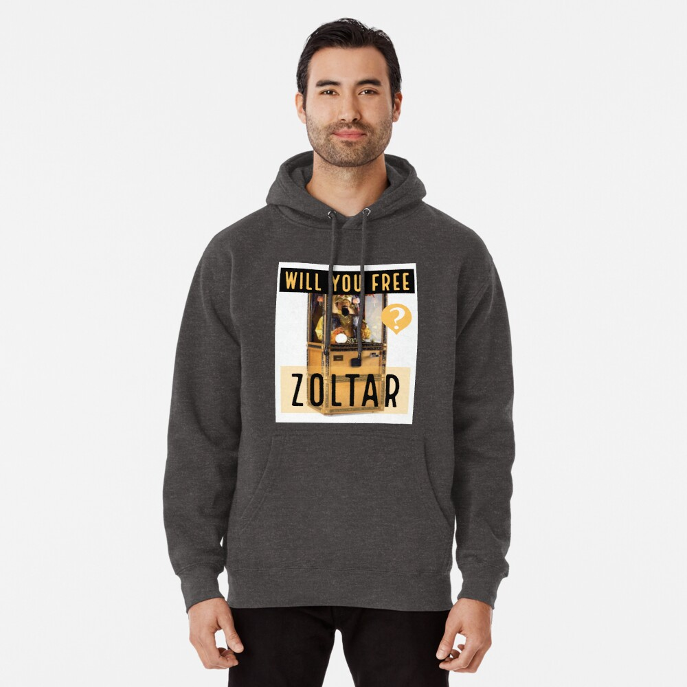 Will You Free Zoltar Fortune Teller Machine Pullover Hoodie By Ricdawgwood Redbubble