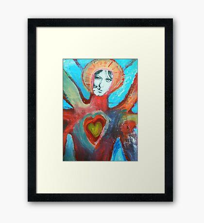 Katherine Lucy Bridget Burke-topus Framed Print