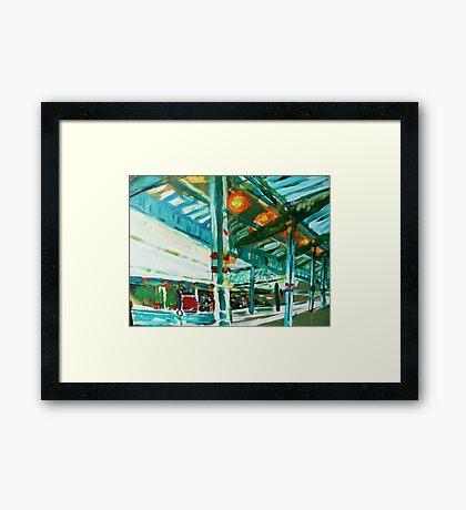 westgate station a study Framed Print