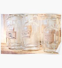 Glass Jars Poster