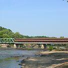 Harpersfield Covered Bridge by Karen K Smith