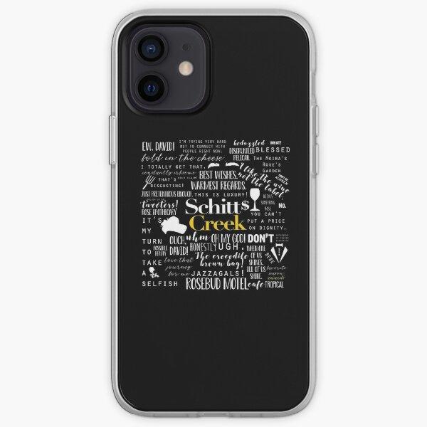 Schitt's Creek Memorable Quotes  iPhone Soft Case