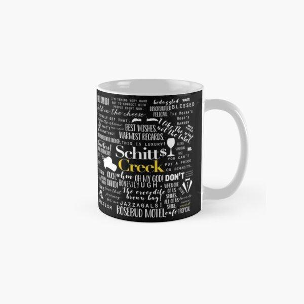Schitt's Creek Memorable Quotes  Classic Mug