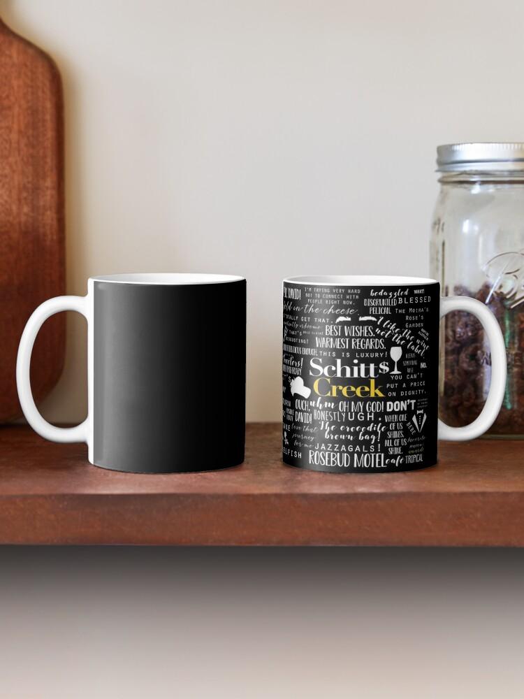 Alternate view of Schitt's Creek Memorable Quotes  Mug