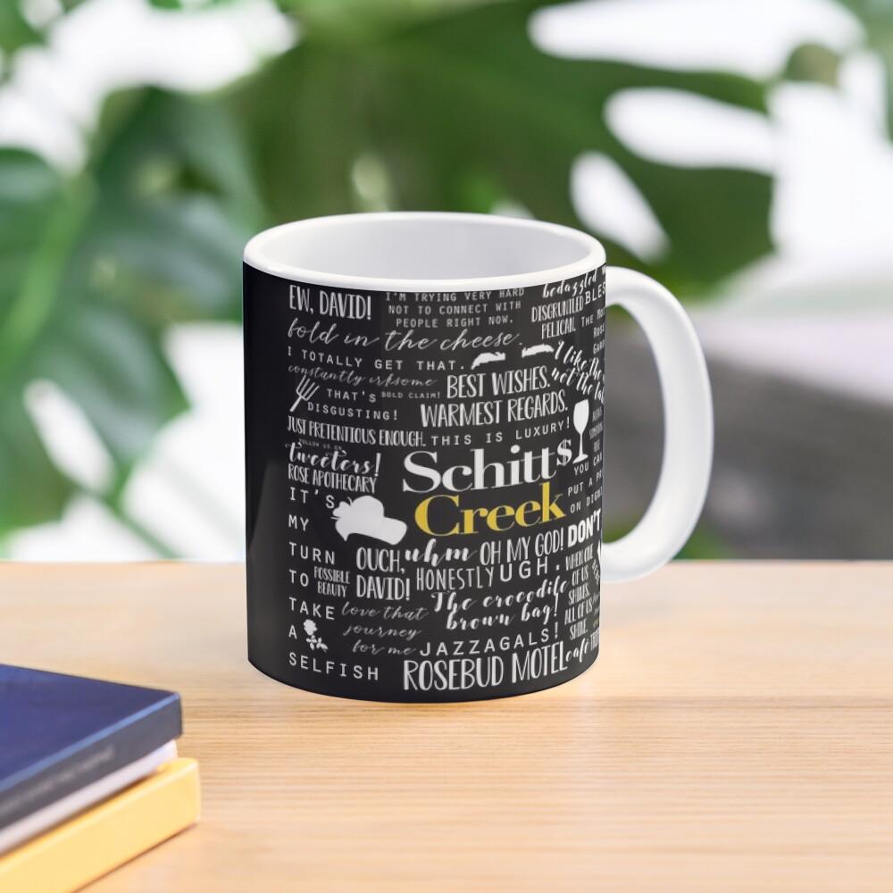Schitt's Creek Memorable Quotes  Mug