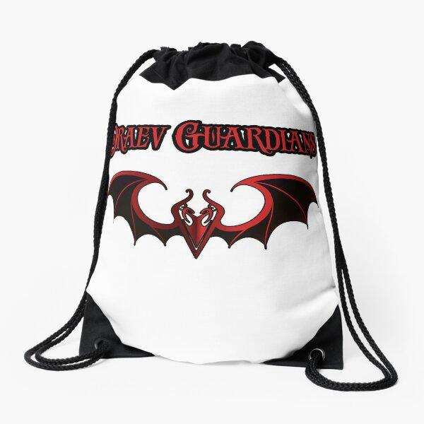 Draev Guardians wing symbol Drawstring Bag