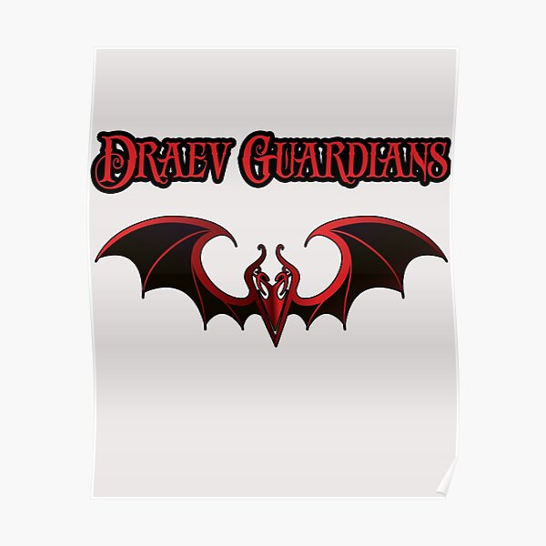 Draev Guardians wing symbol Poster