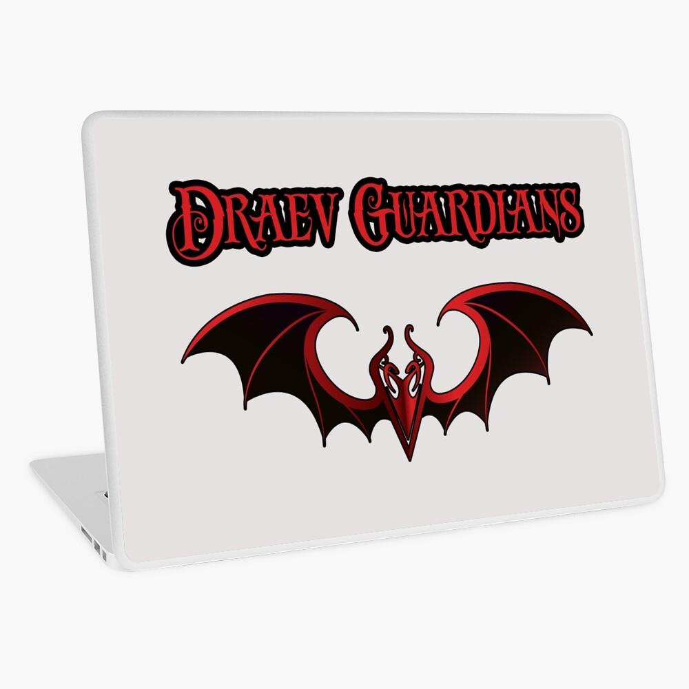 Draev Guardians wing symbol Laptop Skin